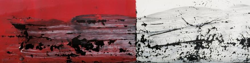 « Élégie #2 », 2006-2009, photographie (impression au jet d'encre sur papier chiffon), 76,2 cm x 222,3 cm