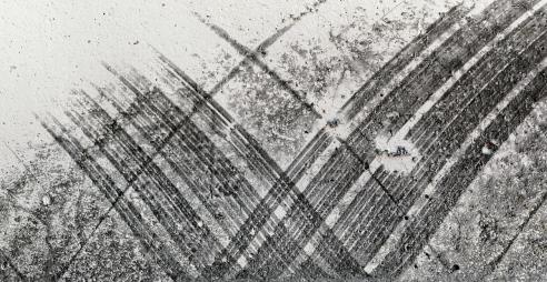 « Petite élégie en noir et blanc », 2006-2009, photographie (impression au jet d'encre sur papier chiffon), 64,8 x 101,6 cm
