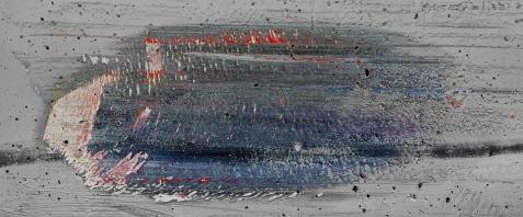 « Élégie #9 », 2006-2009, photographie (impression au jet d'encre sur papier chiffon), 76,2 cm x 147,3 cm