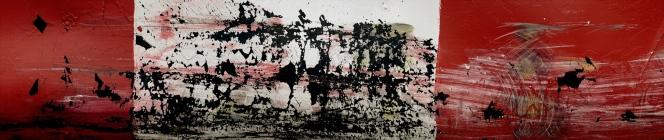 « Élégie #11 », 2014 photographie (impression au jet d'encre sur bannière) 2014, 112 x 338,5 cm