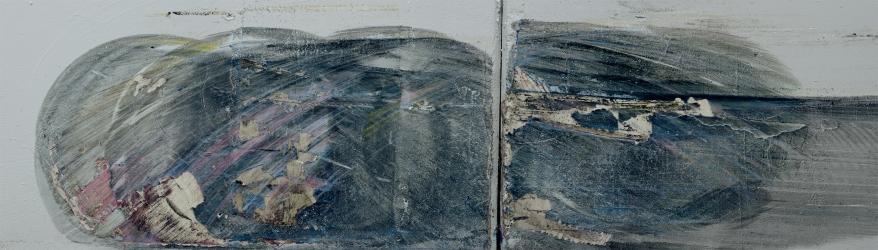«Élégie #10 », 2014, photographie (impression au jet d'encre sur bannière), 112 x 264 cm