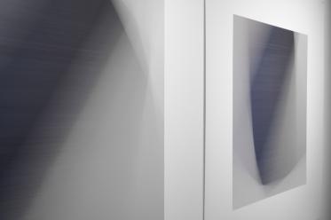 « Dissolutions et chevauchements #5124 et #5126 » (détail), 2014, impressions au jet d'encre archive sur papier chiffon (photographie), 2 éléments de 86,5 x 86,5 cm.