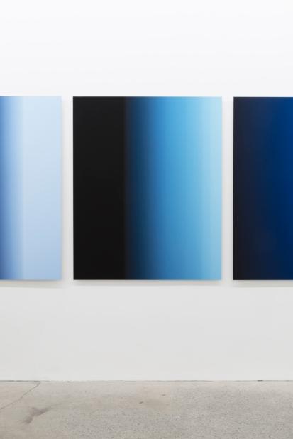 «9.9 secondes» (détail), 2016, photographie (impression à jet d'encre sur papier chiffon montée sur aluminium), 5 éléments de 125 x 100 cm