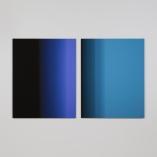 """""""4,6 secondes, version 1"""", 2017, impressions à jet d'encre sur papier chiffon montées sur aluminium (photographie), 2 éléments de 125 x 100 cm"""