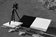 Dispositif utilisé pour la prise de vue (pour les oeuvres de cette section)