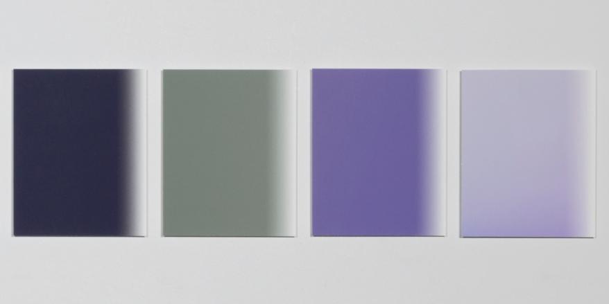 Martin Desilets, «L'index» (extraits), travail en cours, 2016-2018, impression à jet d'encresurpapier Hahnemühle Photo Rag (photographie),4 éléments de 10,2 x 12,7 cm chacun