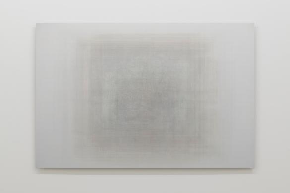 Martin Désilets, «Matière noire, état 3, Pablo Picasso», 2018, impression à jet d'encre sur papier Hahnemühle Photo Rag Baryta montée sur aluminium, 84 x 127 cm — Cette œuvre est composée de la superposition de trois cents images-œuvres.