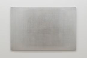 Martin Désilets, «Matière noire, état 9», 2018, impression à jet d'encre sur papier Hahnemühle Photo Rag Baryta montée sur aluminium, 84 x 127 cm — Cette œuvre est composée de la superposition de neuf cents images-œuvres.