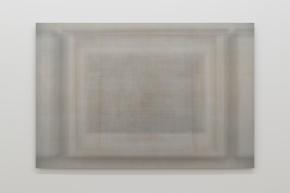 Martin Désilets, «Matière noire, état 12», 2018, impression à jet d'encre sur papier Hahnemühle Photo Rag Baryta montée sur aluminium, 84 x 127 cm — Cette œuvre est composée de la superposition de mille deux cents images-œuvres.
